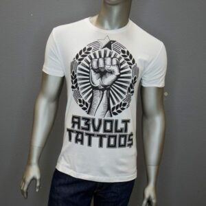 """Revolt Fist"" (White)"