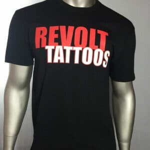 """Revolt Tattoos Logo"" (Black)"