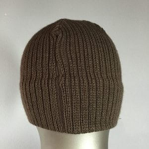 Knit Cap (Brown) 4