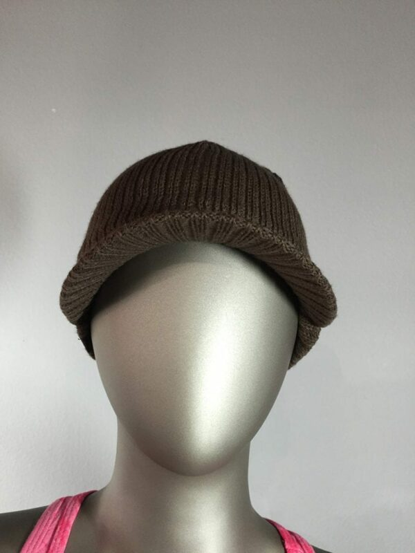 Knit Cap (Brown) 1