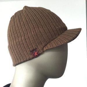 Knit Cap (Brown) 3