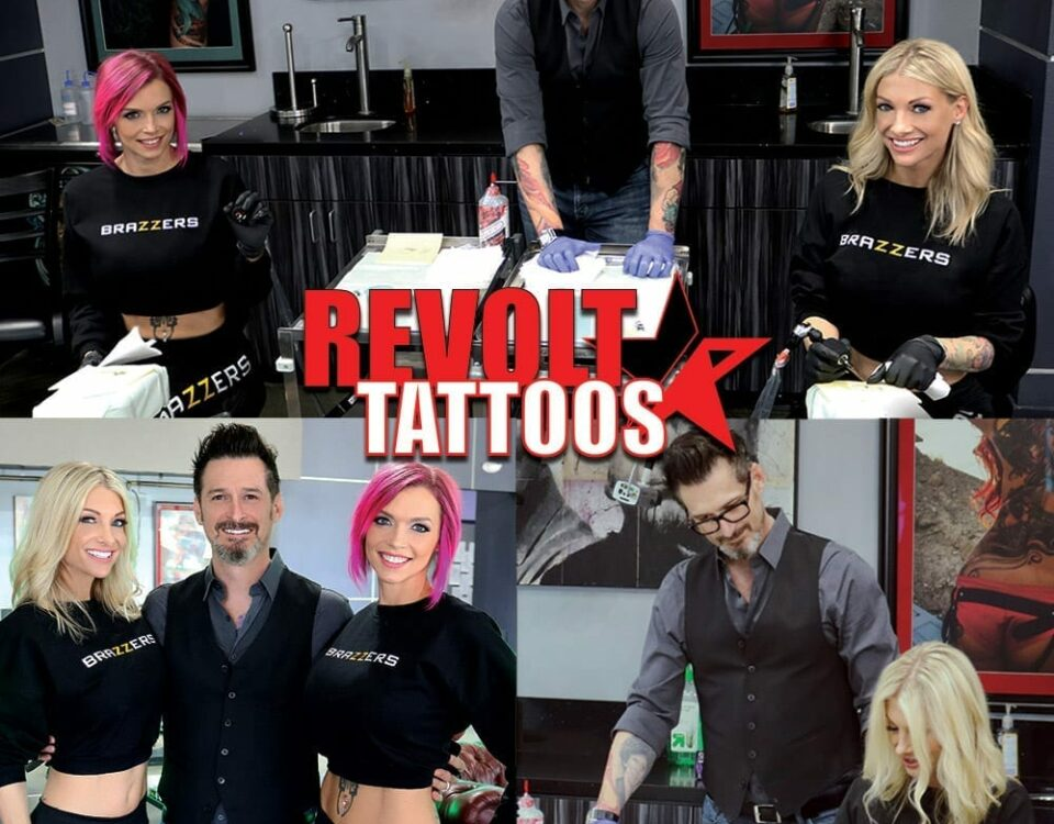 Brazzers Tattoo 101 with Joey Hamilton, Revolt Tattoos