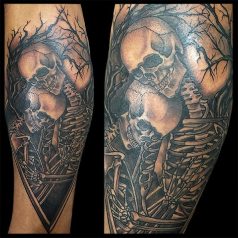 Tattoo by Jason Tritten
