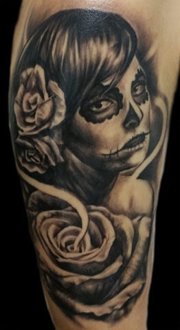 Tattoo By BJ Rascon