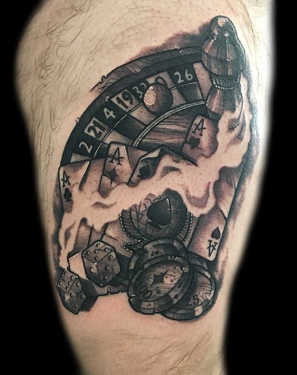 Tattoo by Chad Lambert