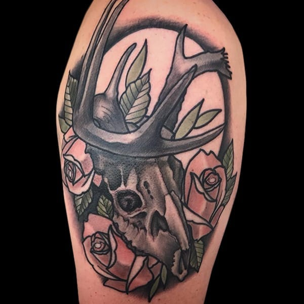Tattoo by Eric Bush