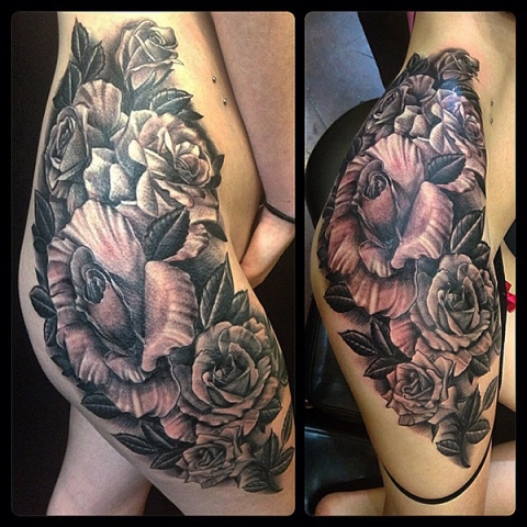 Tattoo by Josh Stono