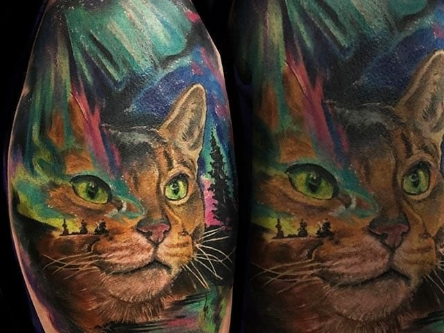 Tattoo by Joey Hamilton