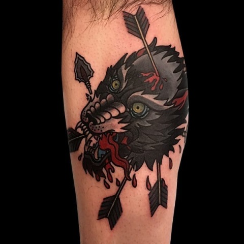 Tattoo by Emma Dudley