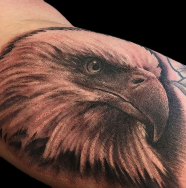 Tattoo by Brad Huntington, tattoo artist at Revolt Tattoo